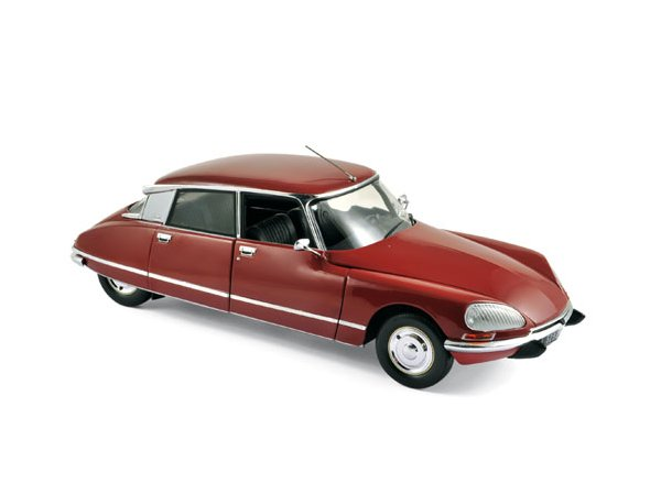CITROEN DS 23 Pallas - 1973 - Massena red - Norev 1:18