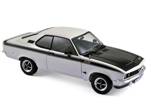 OPEL Manta A GT/E - 1975 - white - Norev 1:18