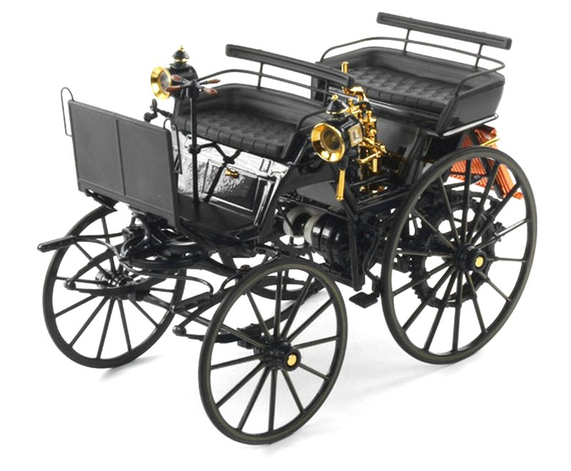 DAIMLER Motorkutsche - 1886 - dark blue - Norev 1:18