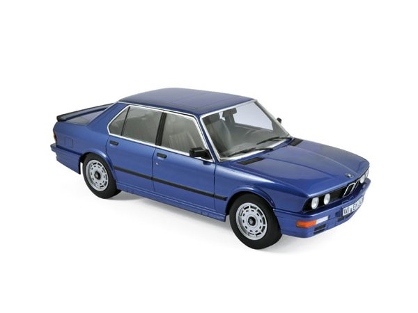 BMW M 535i - 1987 - bluemetallic - Norev 1:18