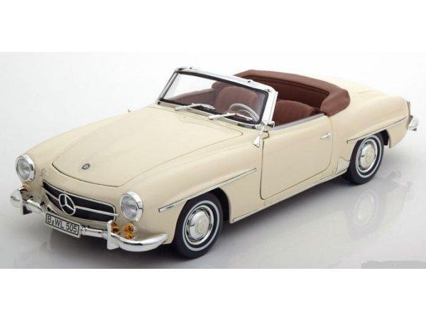 MB Mercedes Benz 190 SL - 1957 - Ivory - Norev 1:18