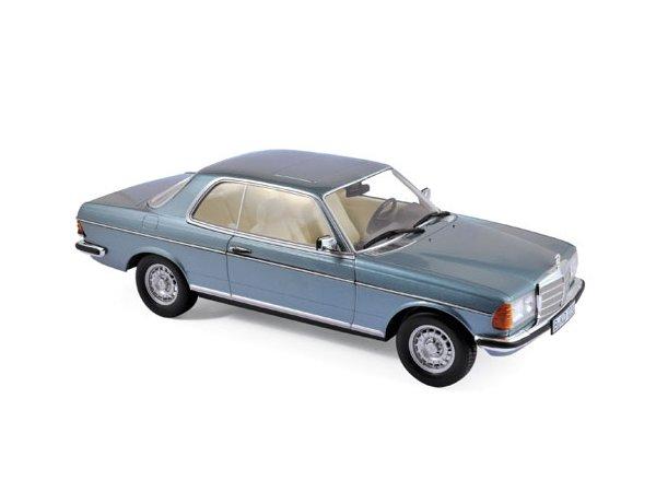 MB Mercedes Benz 280 CE - 1980 - silverbluemetallic - Norev 1:18