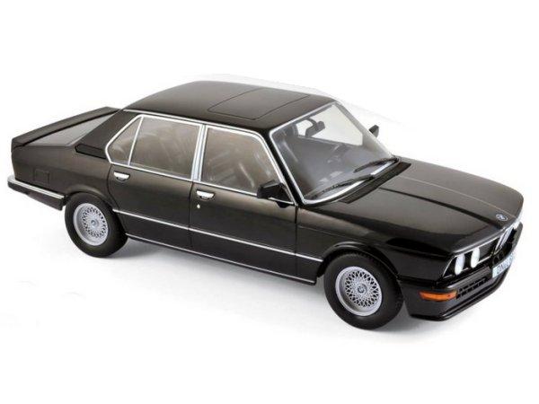 BMW M 535i - 1980 - black - Norev 1:18