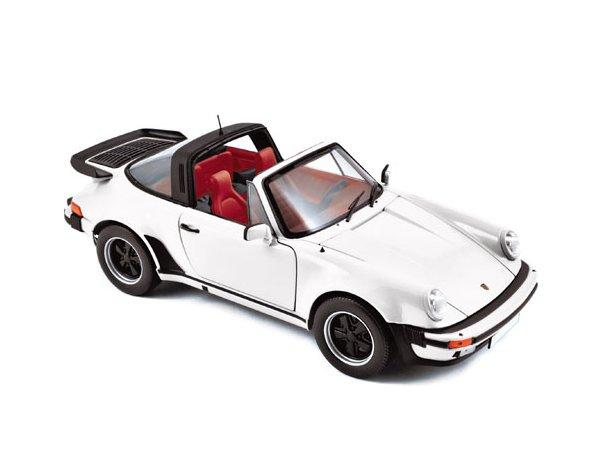 PORSCHE 911 Turbo Targa - 1987 - white - Norev 1:18
