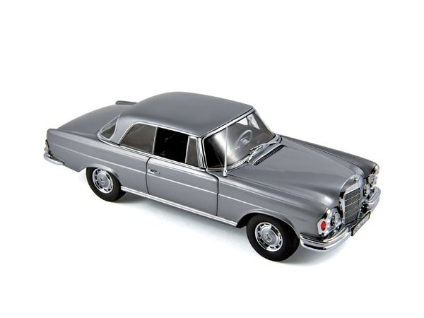 MB Mercedes Benz 280 SE - 1969 - greymetallic - Norev 1:18