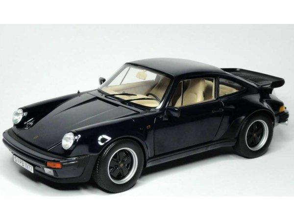 PORSCHE 911 Turbo 3.3 L - darkblue - Norev 1:18