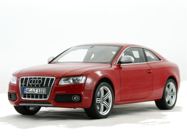 AUDI S5 Coupe - 2009 - red - Norev 1:18