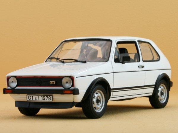 VW Volkswagen Golf GTI - 1977 - white - Norev 1:18