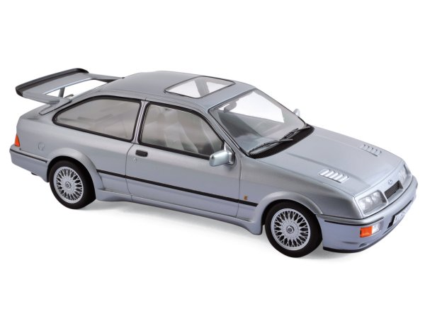 FORD Sierra RS Cosworth - 1986 - Grey metallic - Norev 1:18