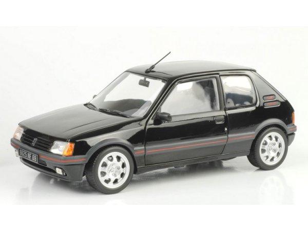 PEUGEOT 205 GTi 1,9 - 1988 - black - Norev 1:18