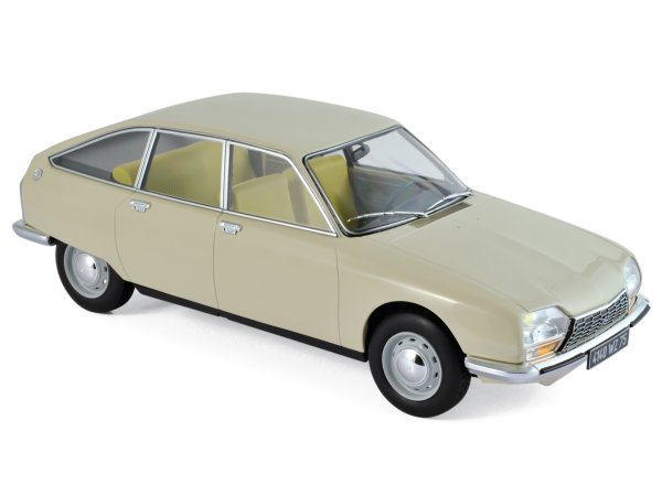 CITROEN GS - 1971 - Erable beige - Norev 1:18