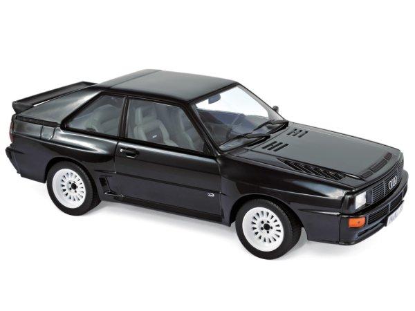 AUDI Sport Quattro - 1985 - black - Norev 1:18