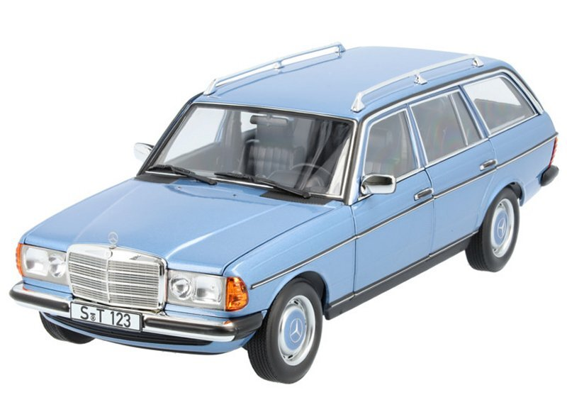 MB Mercedes Benz 200 T - S 123 - diamond blue - Norev 1:18