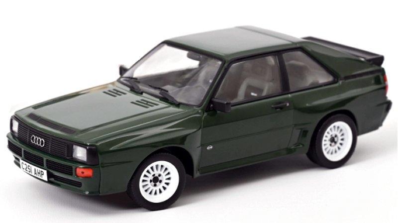 AUDI Sport Quattro - 1985 - darkgreen - Norev 1:18