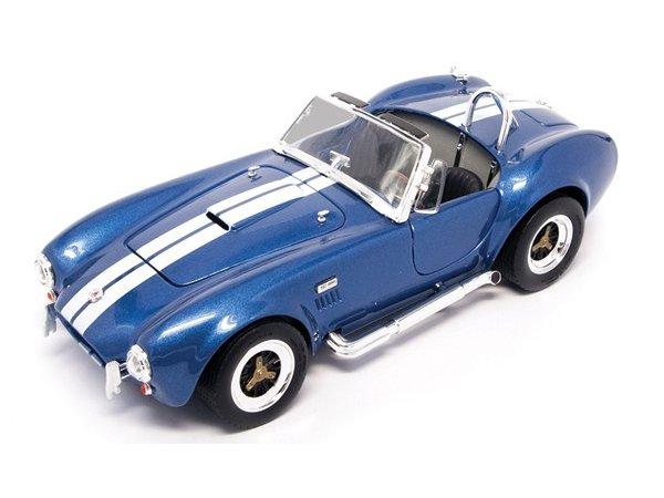 SHELBY Cobra 427 S/C - 1964 - bluemetallic - Lucky Die Cast 1:18