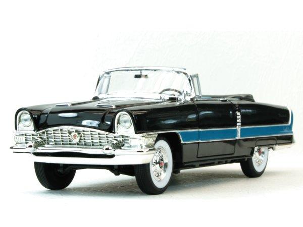 PACKARD Caribbean - 1955 - black - Lucky Die Cast 1:18