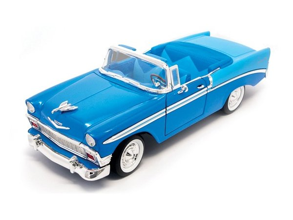 CHEVROLET Bel Air - 1956 - blue - Lucky Die Cast 1:18