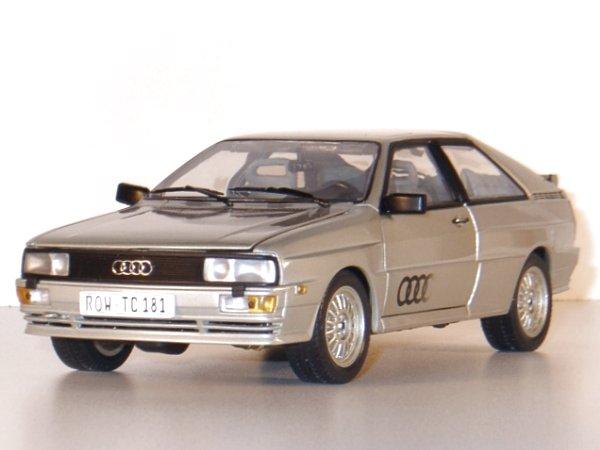 AUDI Quattro - 1981 - silver - Sun Star 1:18