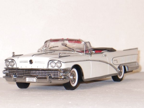 BUICK Limited - 1958 - casino cream - Sun Star 1:18