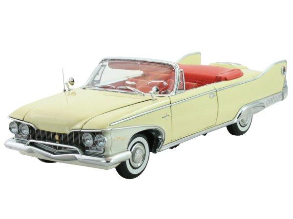 PLYMOUTH Fury - 1960 - buttercup yellow - Sun Star 1:18