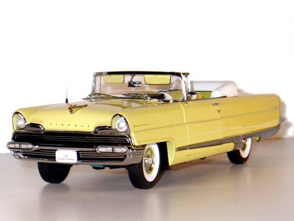 LINCOLN Premiere - 1956 - sunburst yellow - Sun Star 1:18