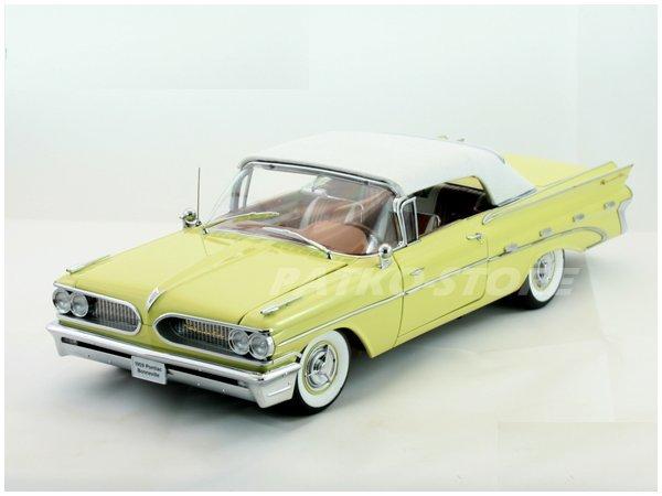 PONTIAC Bonneville - 1959 - Palomar yellow - Sun Star 1:18