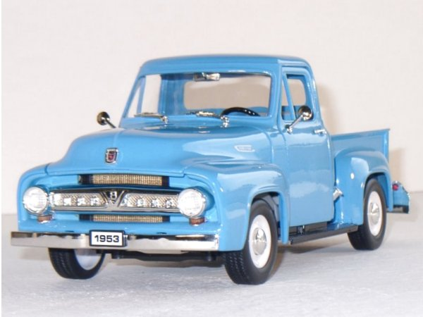 FORD F-100 Pick up - 1953 - lightblue - YATMING 1:18