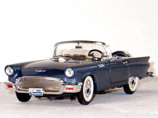 FORD Thunderbird - 1957 - bluemetallic - YATMING 1:18