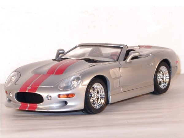 SHELBY Series 1 - 1999 - silver - YATMING 1:18