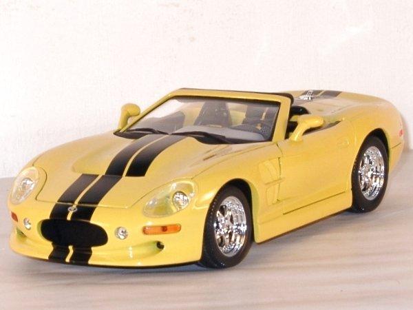 SHELBY Series 1 - 1999 - yellow - YATMING 1:18