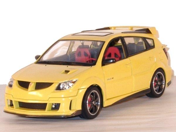 PONTIAC Vibe GTR - 2003 - yellow - YATMING 1:18