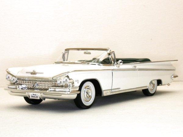 BUICK Electra 225 - 1959 - white - YATMING 1:18