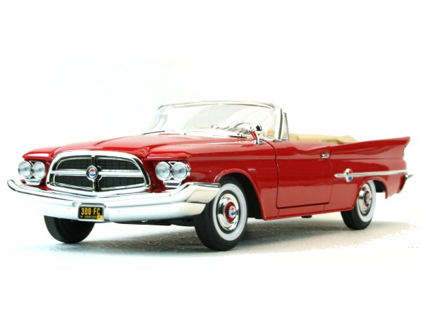 CHRYSLER 300 F - 1960 - red - YATMING 1:18