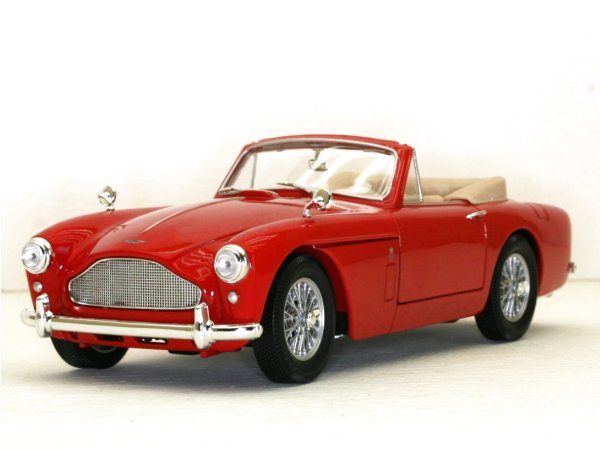 ASTON MARTIN DB2-4 Mark III - 1958 - red - YATMING 1:18