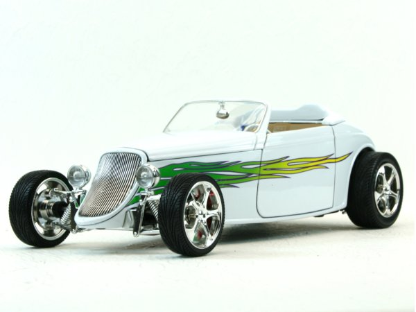 FORD Convertible - 1933 - white - YATMING 1:18