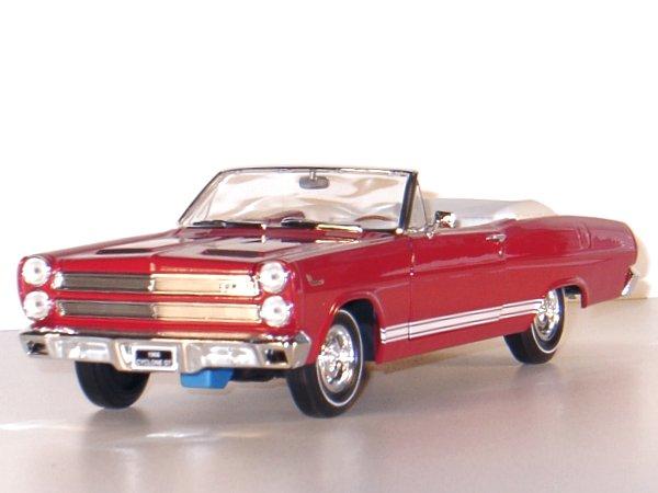 MERCURY Cyclone GT - 1966 - red - YATMING 1:18