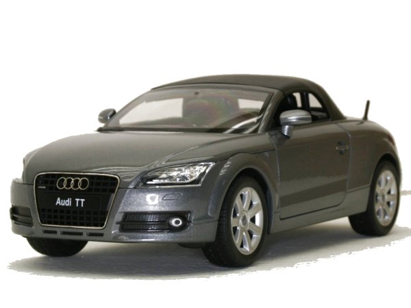 AUDI TT Roadster - greymetallic - WELLY 1:18