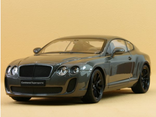 BENTLEY Continental Supersports - greymetallic - WELLY 1:18