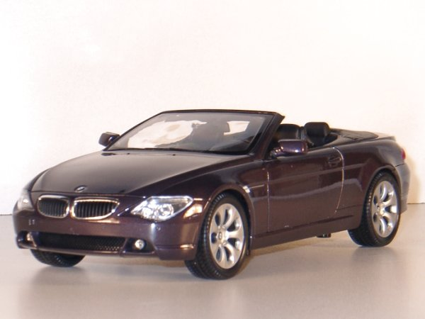 BMW 645 Ci - Metallic - WELLY 1:18