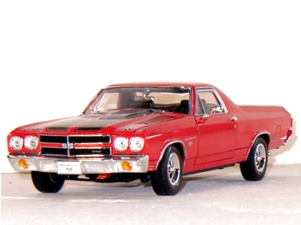 CHEVROLET El Camino SS 396 - 1970 - red - WELLY 1:18