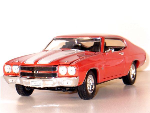 CHEVROLET Chevelle SS 454 - 1970 - red - WELLY 1:18
