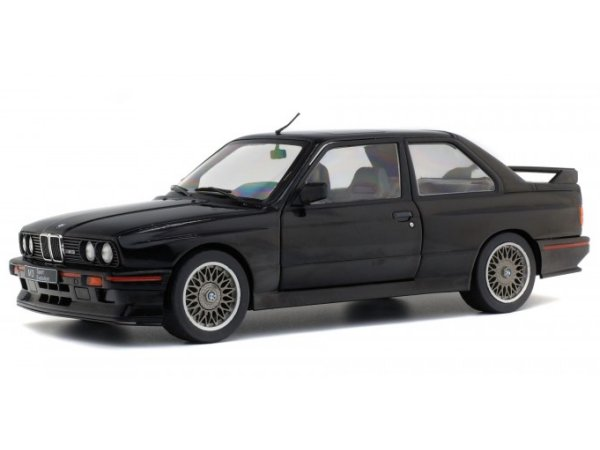 BMW M3 - E30 Sport Evo - 1990 - black - SOLIDO 1:18