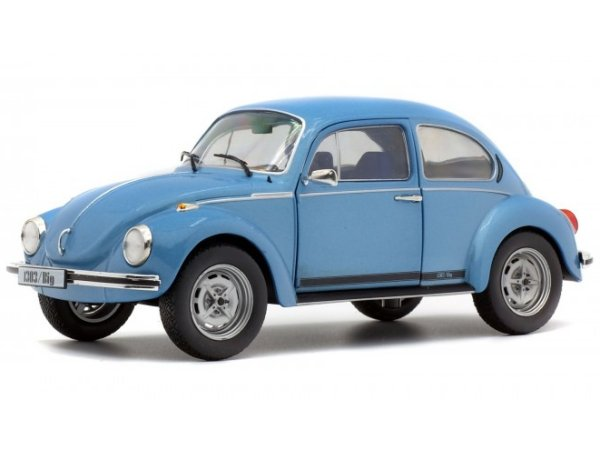 VW Volkswagen Käfer / Beetle 1303 - 1974 - bluemetallic - SOLIDO 1:18