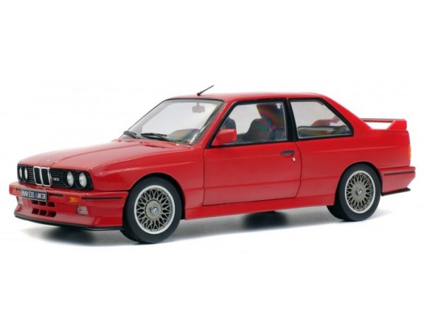 BMW M3 Coupe E30 - 1990 - red - SOLIDO 1:18
