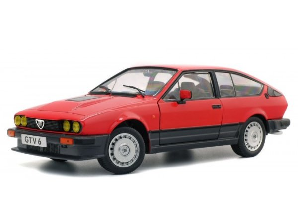 ALFA ROMEO GTV 6 - 1984 - red - SOLIDO 1:18