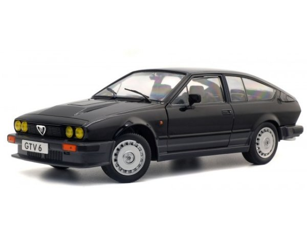 ALFA ROMEO GTV 6 - 1984 - black - SOLIDO 1:18
