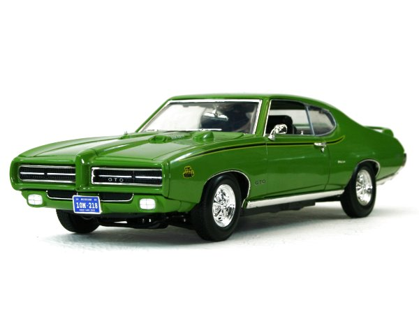 PONTIAC GTO - Judge - 1969 - green - MotorMax 1:18