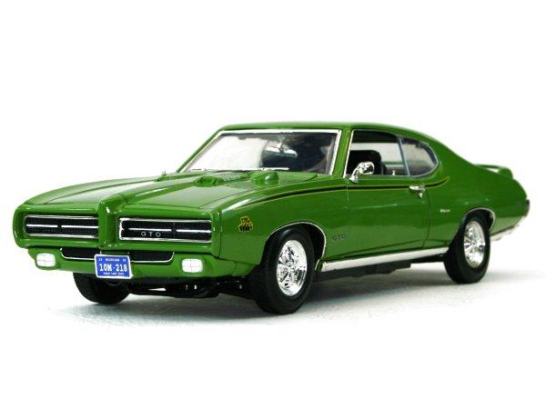 PONTIAC GTO - Judge - 1969 - green - MotorMax 1:18