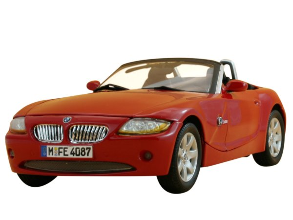 BMW Z4 - red - MotorMax 1:18