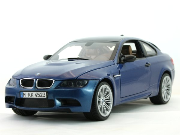 BMW M3 Coupe - bluemetallic - MotorMax 1:18
